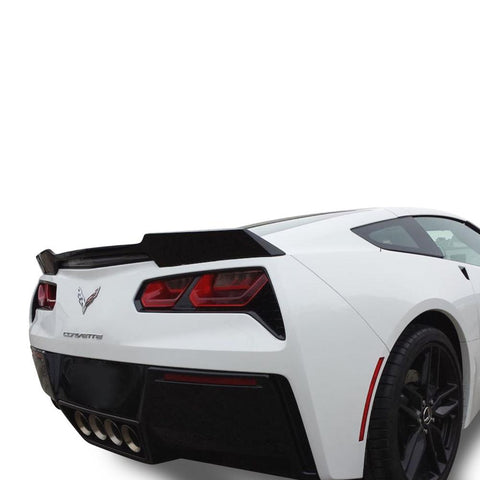 C7 Corvette Rear Spoiler - Wickerbill Inspired - Painted : Stingray-Body Parts-DAR Spoilers