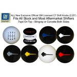 C7 Corvette Stingray - 7Spd Shift Knob : Assorted Colors and Styles-Shifters & Shift Knobs-RPI Designs