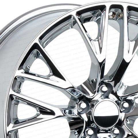 C7 Corvette Z06 Style Reproduction Wheels : Chrome-Reproduction Wheels-Factory Reproductions