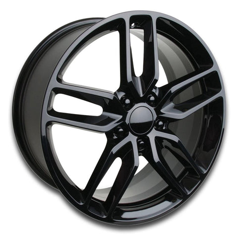 C7 Corvette Z51 Style Reproduction Wheels : Gloss Black-Reproduction Wheels-Factory Reproductions