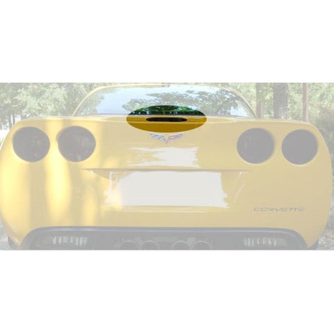 Corvette Acrylic Blackout - 3rd Brake Light : 2005-2013 C6, Z06, ZR1, Grand Sport-Blackout Kits-GS Creations, LLC
