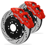 Corvette AERO6 Big Brake Front Brake Kit - Wilwood : C7 Z06-Brake Pads-Wilwood