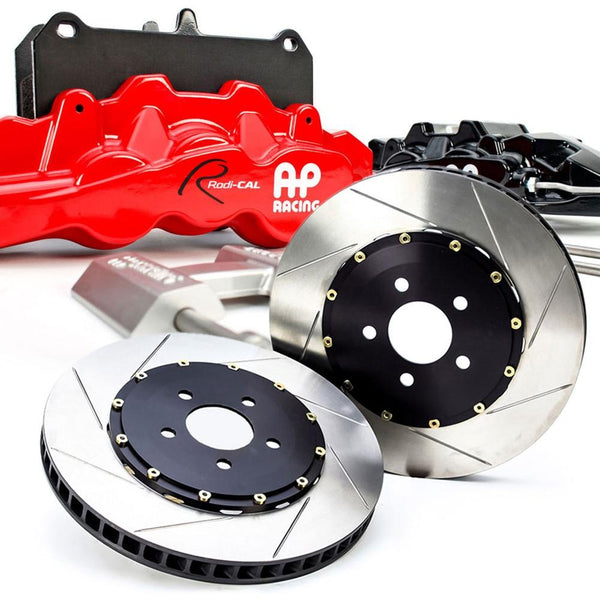 Corvette - AP Racing Radi-Cal - Slotted 2 pc. Rotors & Calipers : 2005-2013 C6, Z06, Grand Sport-Rotors & Covers-Stillen