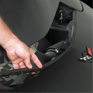Corvette Auxiliary Hood Seal : 1997-2004 C5 & Z06-Exterior Accessories-West Coast Corvettes