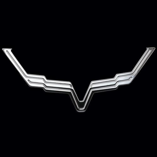 Corvette Billet Emblem Bezels III : 2005-2013 C6 Z06, ZR1, Grand Sport-Letter Sets & Emblems-SR1 Performance