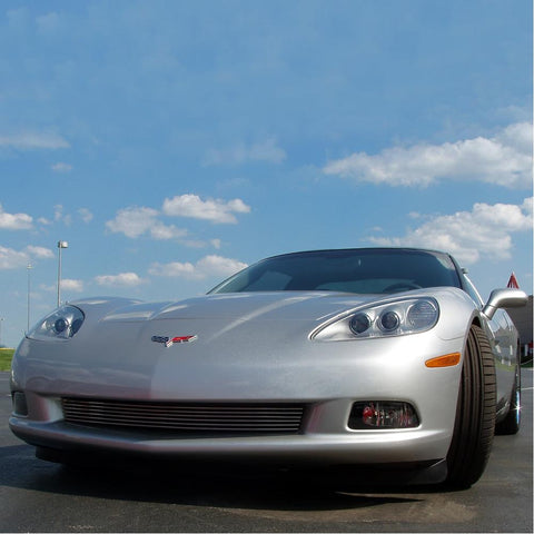 Corvette Billet Grille High Polished : 2005-2013 C6, Z06, Grand Sport, ZR1-Screens and Grilles-APA Industries