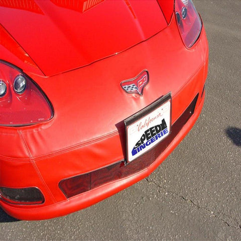 Corvette Bra - SpeedLingerie Color Matched With License Plate Pocket : 2005-2013 C6-Bra & Mask-Speed Lingerie