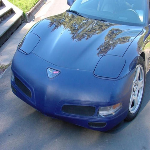Corvette Bra - SpeedLingerie Color Matched with NO License Plate Window : 1997-2004 C5 & Z06-Bra & Mask-Speed Lingerie