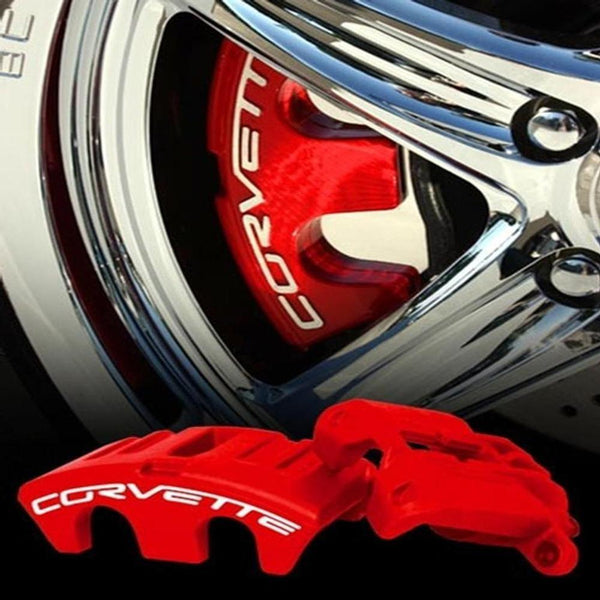Corvette Brake Caliper Package - Powder Coated Exchange : 2005-2013 C6-Caliper Parts-SR1 Performance