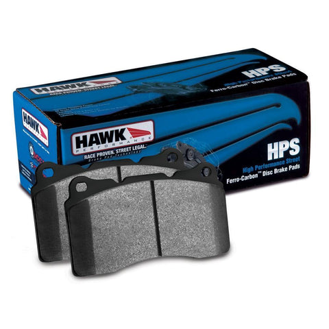 Corvette Brake Pads - Hawk HPS (Street) 1 Pc : 2006-2013 Z06 & Grand Sport-Brake Pads-Hawk Performance