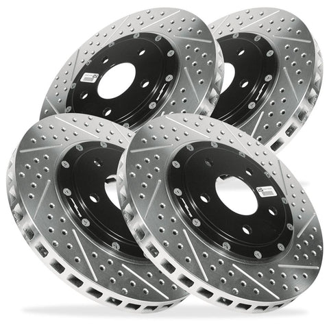 Corvette Brake Rotor Package - Baer EradiSpeed Plus (Set) : 1997-2013 C5,C6-Rotors & Covers-Baer Brakes