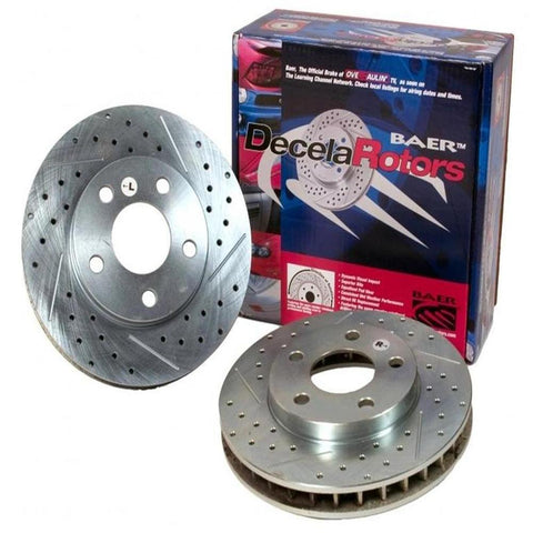 Corvette Brake Rotor Package - Baer Sport Rotors (Set) : 1997-2013 C5 & C6-Rotors & Covers-Baer Brakes