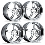 "Corvette Custom Wheels - WCC 946 EXT Forged ""Smooth"" Series (Set) : Chrome-Custom Wheels-SR1 Performance"
