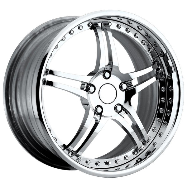 Corvette Custom Wheels - WCC 946 EXT-R Forged Series : Chrome-Custom Wheels-SR1 Performance