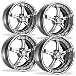 Corvette Custom Wheels - WCC Forged 945 (Set) : Chrome-Custom Wheels-SR1 Performance