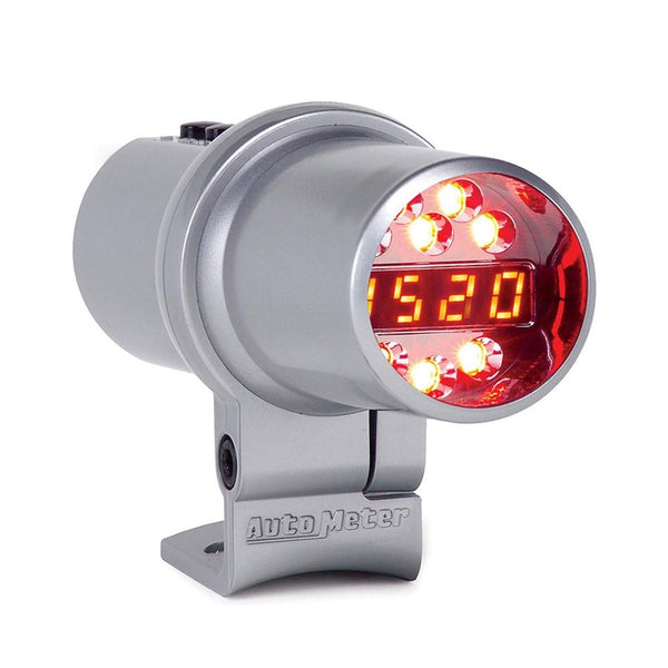Corvette DPSS Shift Light - Auto Meter - 0-16,000 RPM - Silver : Level 1-Performance Parts-AutoMeter
