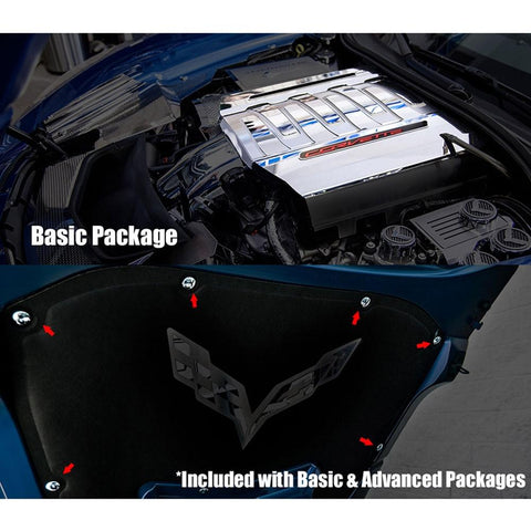 Corvette Engine Kit Packages : C7 Stingray, Z51, Grand Sport-Engine Dress-Up/Under Hood-American Car Craft
