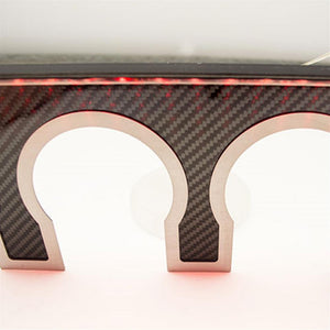 Corvette Exhaust Filler Panel - Stainless/Carbon Fiber : C7 Stingray, Z51, Z06, Grand Sport-Exhaust Plates-American Car Craft