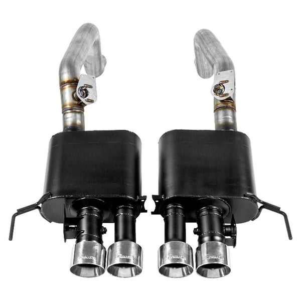 Corvette Exhaust - Flowmaster Outlaw w/NPP - Axle-back : C7 Stingray-Exhaust System-Flowmaster Exhaust