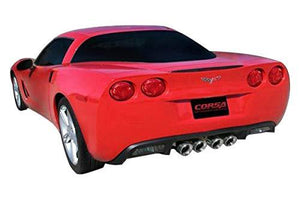 "Corvette Exhaust System - Corsa Xtreme 4.5"" Quad Tips : 2005-2008 C6-Exhaust System-Corsa Exhaust"