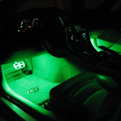 Corvette Footwell LED Lighting Kit : 1997-2004 C5-Interior Lights-Custom LED Lighting