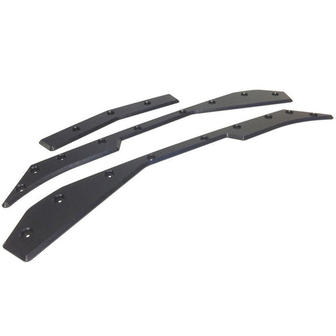 Corvette Front Bumper Skid Plates - ProTEKt : C7 Stingray, Z51, Z06, Grand Sport-Bumper Parts-Turn 14 Distribution