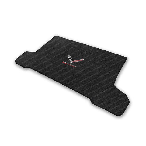 Corvette Grand Sport w/ Crossed Flags Cargo Mats - Lloyds Mats: C7 Grand Sport-Cargo Mats-Lloyd Floor Mats