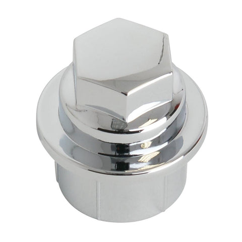 Corvette Lug Nut Covers - Chrome Smooth Top : 2000-2004 C5 & Z06-Wheel & Tire Parts-West Coast Corvettes