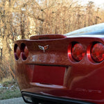 Corvette Rear Spoiler - Brake Light Housing Z06 Style - Painted : 2005-2013 C6, Z06, ZR1, Grand Sport-Body Parts-West Coast Corvettes