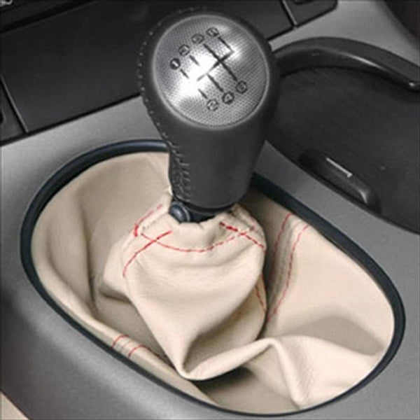 Corvette Shift Boot Six Speed Custom Leather - : 2005-2013 C6, Z06,ZR1,Grand Sport-Shifters & Shift Knobs-West Coast Corvettes