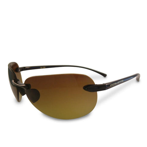Corvette Sunglasses with C6 Logo - Solar Bat Style 1040-Sunglasses-Solar Bat