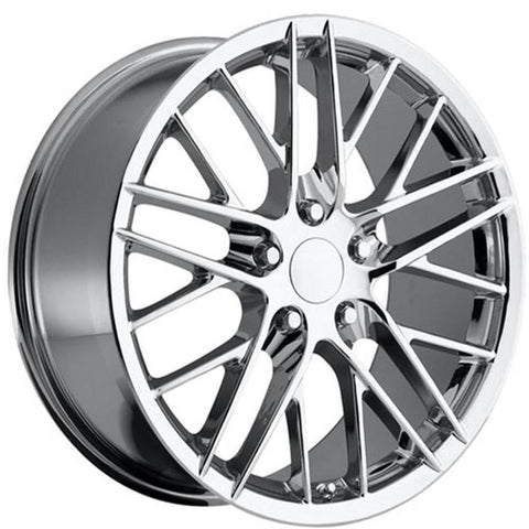 Corvette Wheel - 2009 ZR1 Style Reproduction : Chrome-Reproduction Wheels-Factory Reproductions