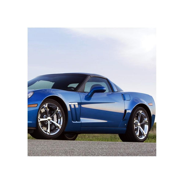 Corvette Wheel - 2010 Grand Sport Style Reproduction (Set) - Chrome-Reproduction Wheels-Factory Reproductions
