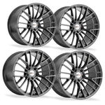 Corvette Wheels - Cray Astoria (Set) : Gloss Gunmetal-Custom Wheels-Cray Wheels