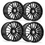 Corvette Wheels - Cray Astoria (Set) : Matte Black-Custom Wheels-Cray Wheels