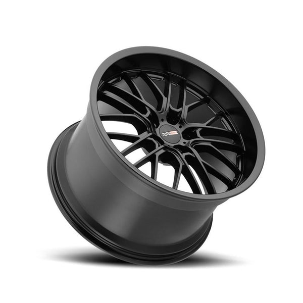 Corvette Wheels - Cray Eagle (Set) : Matte Black-Custom Wheels-Cray Wheels