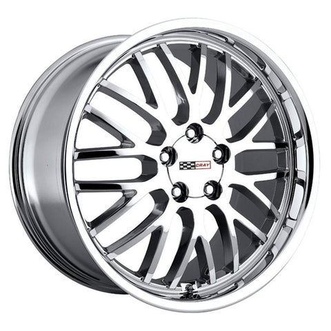 Corvette Wheels - Cray Manta : Chrome-Custom Wheels-Cray Wheels