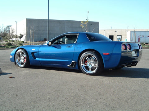 Corvette Wheels Custom - 1-Piece Forged Aluminum (Set) : Style 505A-Custom Wheels-Complete Custom Wheels