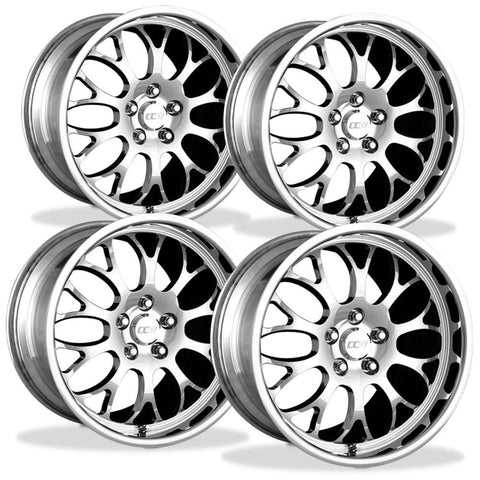 Corvette Wheels Custom - 1-Piece Forged Aluminum (Set) : Style SP20A-Custom Wheels-Complete Custom Wheels