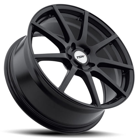 Corvette Wheels - TSW Interlagos (Set) : Matte Black-Custom Wheels-TSW Alloy Wheels