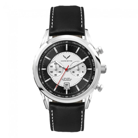 C7 Corvette Men's Driver's Watch - Black