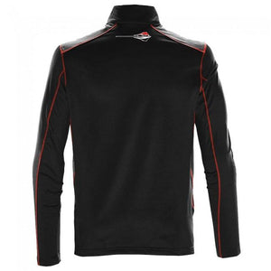 Next Generation Corvette Stingray Quarter-Zip Fleece : Black-Jackets-Burston Marketing