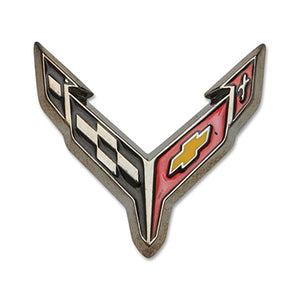 Next Generation C8 Corvette Lapel/Hat Pin - Carbon Flash