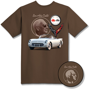 C8 Corvette Zora Tribute T-Shirt : Dark Heather Chocolate