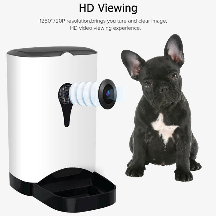 French Bulldog Smart Feeder