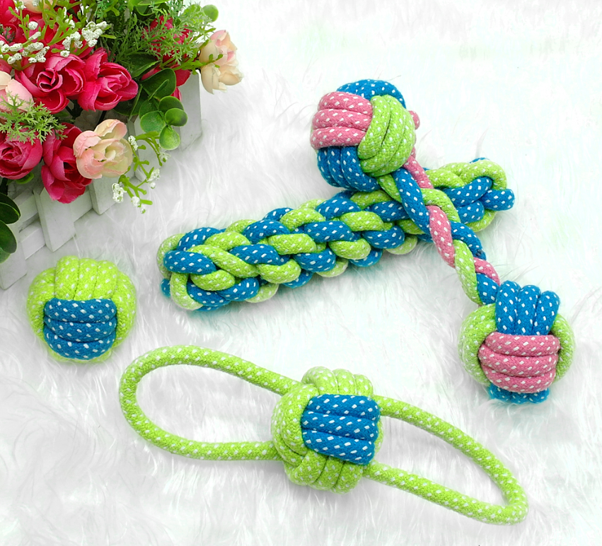 French Bulldog Rope Knot