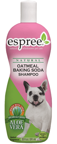 French Bulldog Oatmeal Baking Soda Shampoo