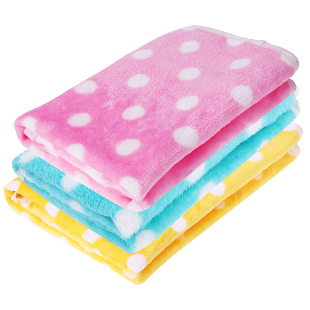 French Bulldog Polka Blanket