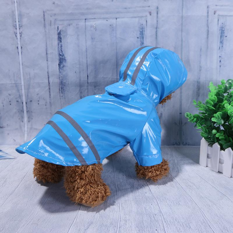 French Bulldog Reflective Raincoat
