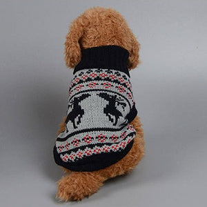 French Bulldog Classic Knitted Christmas Jumper